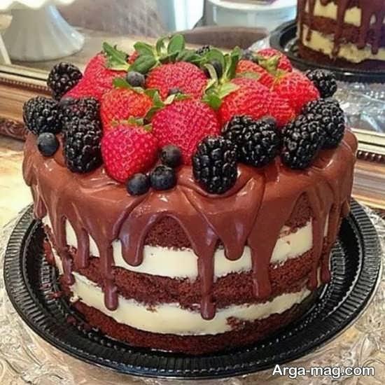 تزئین کیک تولد رمانتیک و عاشقانه
