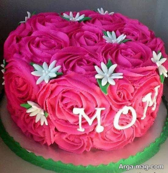 تزئین هنرمندانه کیک تولد رمانتیک