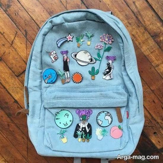 تزیین جدید کیف مدرسه