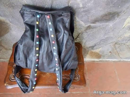 تزیین دسته کیف مدرسه