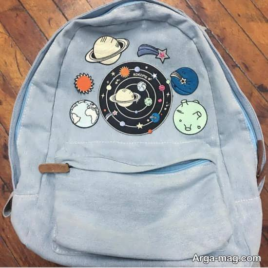 تزیین کیف پسرانه