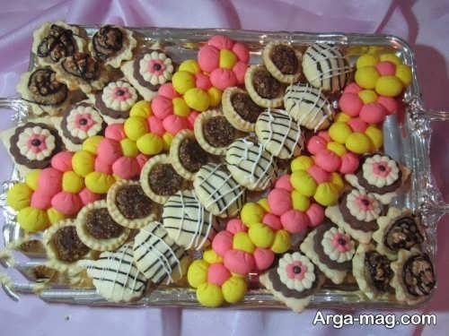 تزیین شیرینی شب یلدا
