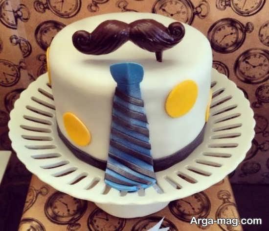 تزیین شیک کیک تولد مردانه