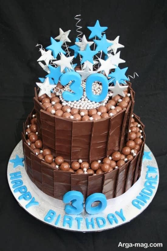 تم جالب کیک تولد مردانه
