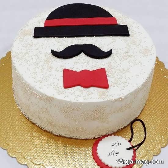 تزیین متفاوت کیک تولد مردانه
