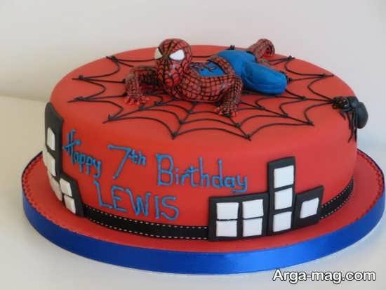 تزیین جالب کیک تولد مردانه