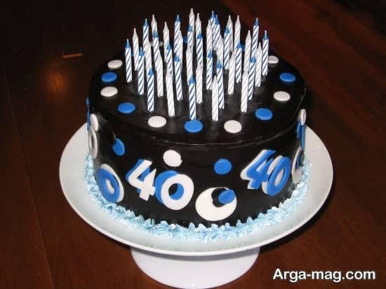 تم کیک تولد مردانه