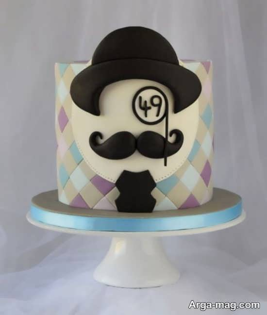 تزیین کیک تولد مردانه