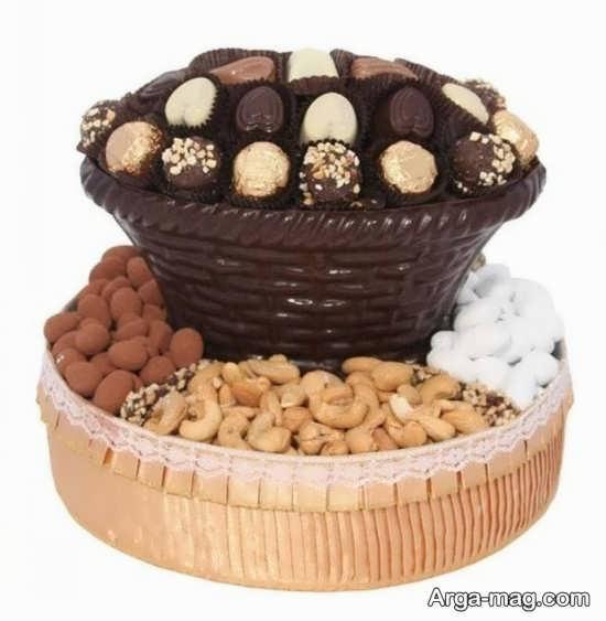 تزیین شیرینی و آجیل شب یلدا