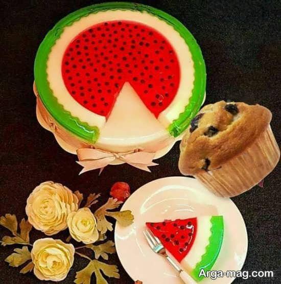 دیزاین کیک شب یلدا