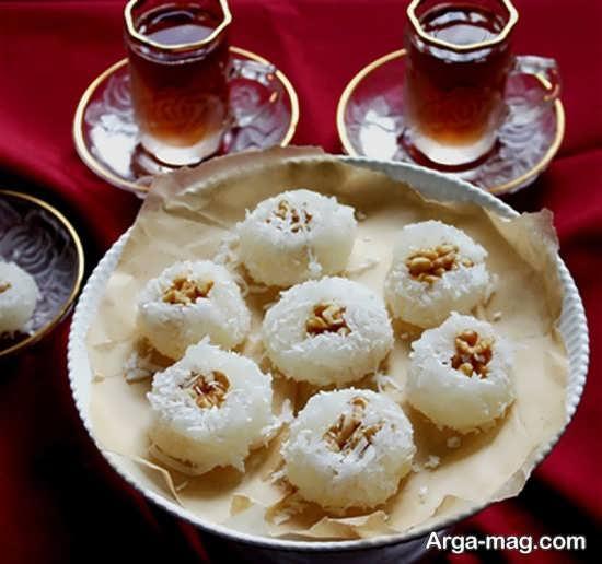 تزیین شیرینی برای شب یلدا