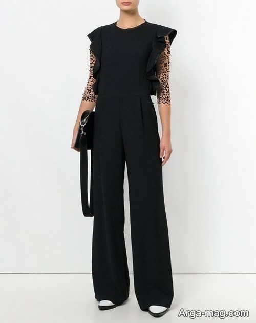 لباس سرهمی مشکی