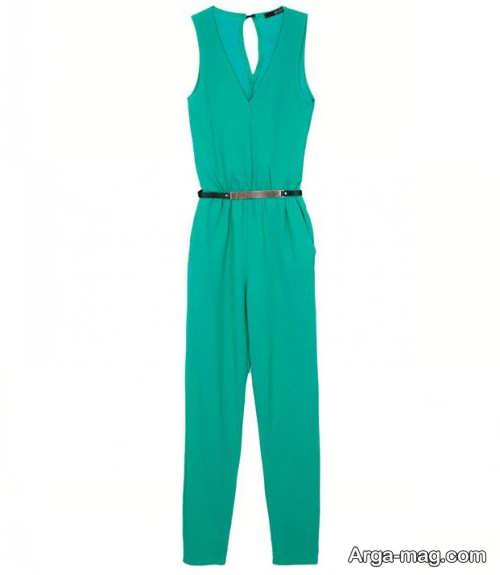 مدل لباس سرهمی زنانه سبز