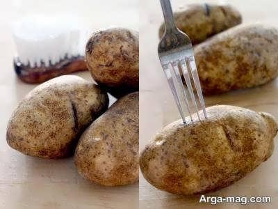 رژیم غذایی سیب زمینی