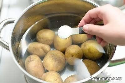 رژیم لاغر کننده سیب زمینی