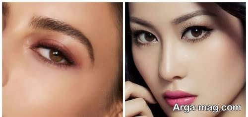 مدل ابرو کره ای زنانه