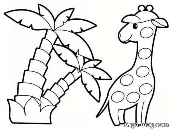 نقاشیهای باحال حیوانات جنگل