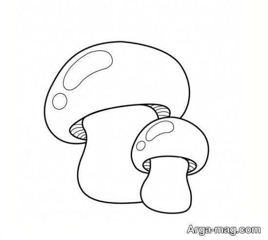 نقاشی قارچ با ایده جذاب