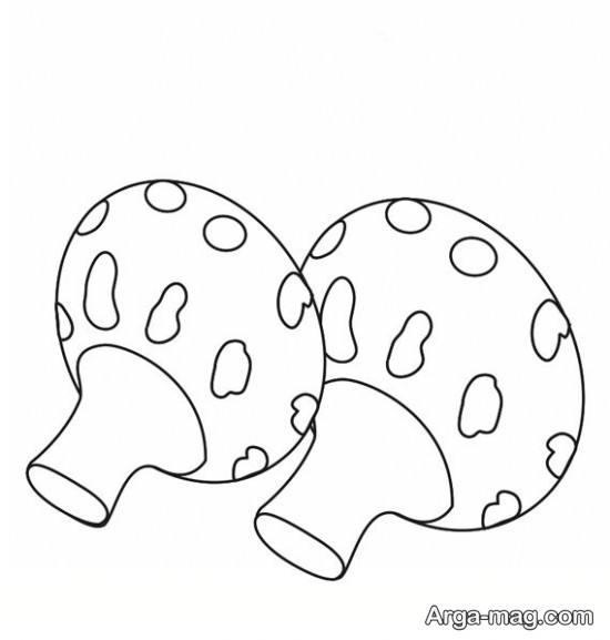 کشیدن راحت قارچ