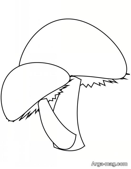 کشیدن قارچ برای کودکان