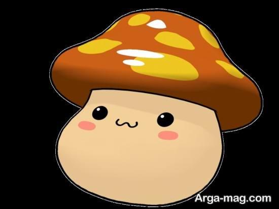 رنگ آمیزی با مزه قارچ