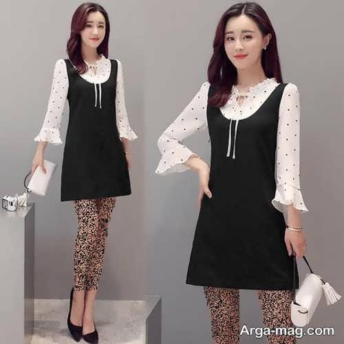 مدل لباس مجلسی دخترانه 2019 کره ای