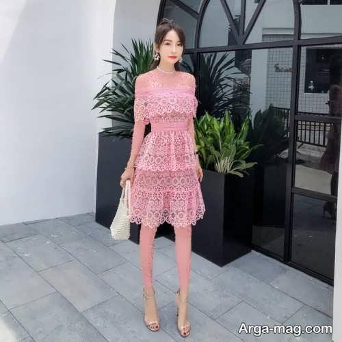 مدل لباس مجلسی کره ای دخترانه
