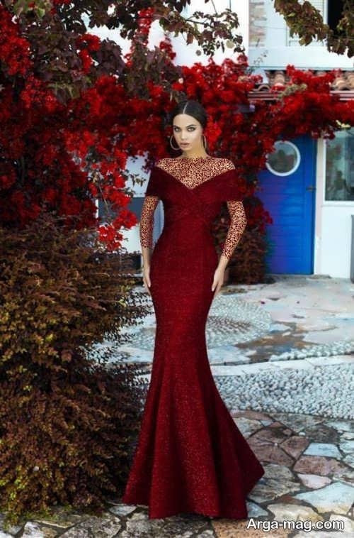 مدل لباس مجلسی دخترانه 2019 ساده و زیبا