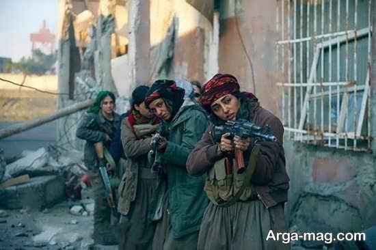 گلشیفته فراهانی در فیلمی علیه داعش