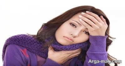 میوه های مضر برای گلو درد