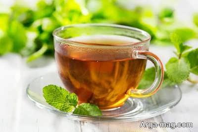 درمان یبوست با چای نعناع