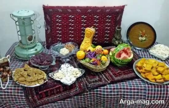 دیزاین برای شب یلدا