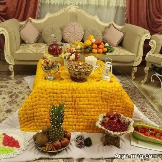 تزیین سنتی خانه برای شب یلدا