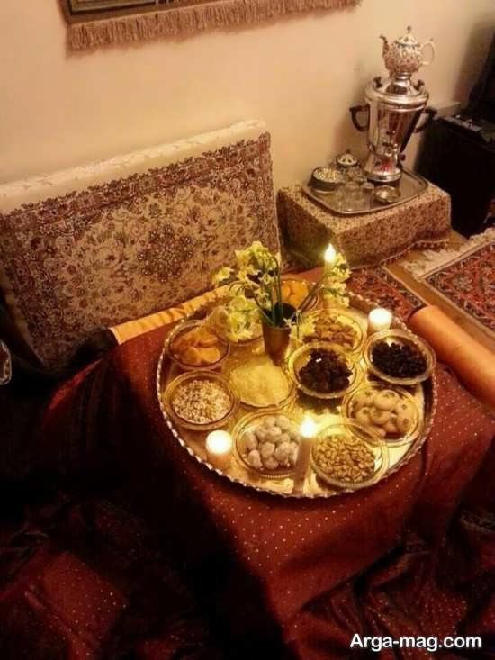 دکوراسیون خانه مخصوص شب یلدا