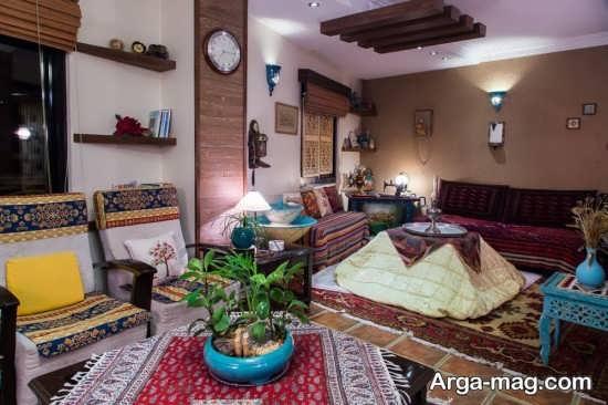 چبدمان خانه برای شب یلدا