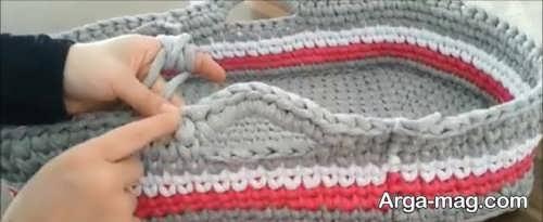 آموزش مرحله به مرحله بافت کریر نوزاد
