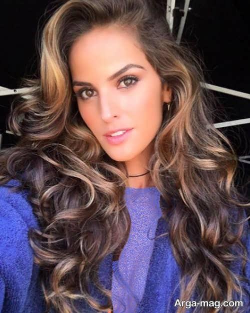 مدل موی فر بلند زنانه