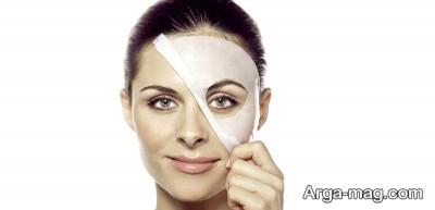 ماسک آبرسان پوست