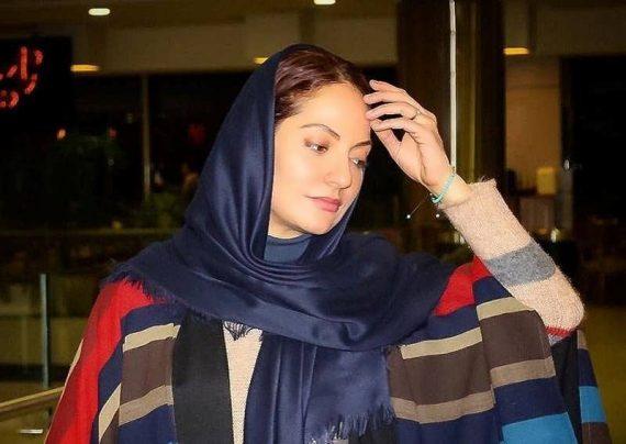 گوشی لاکچری و گران قیمت مهناز افشار