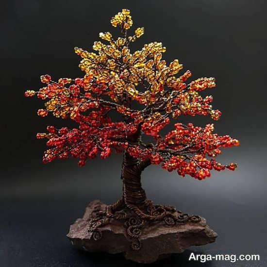 ساختن درختچه تزئینی در طرح های بی نظیر