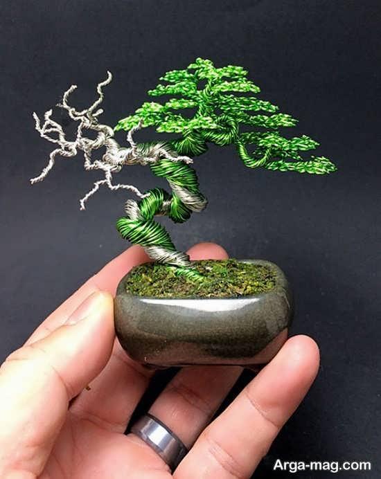 ساخت درختچه های تزئینی