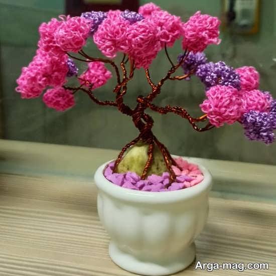 درختچه تزئینی با ساختی خالاقانه