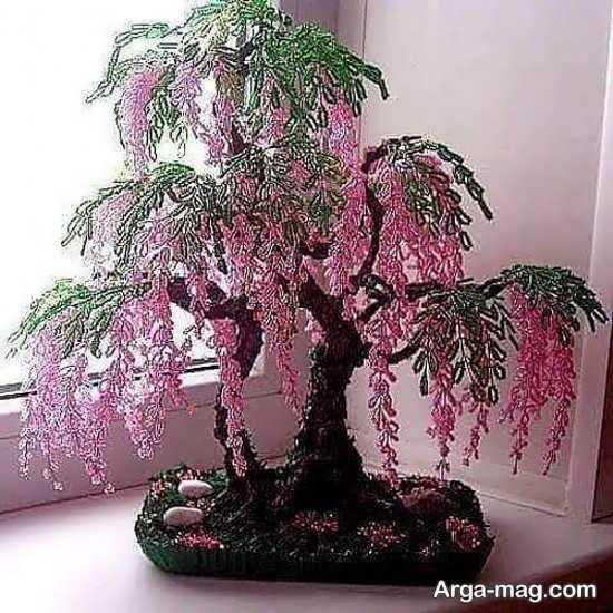 ساختن درختچه تزئینی در طرح های قشنگ