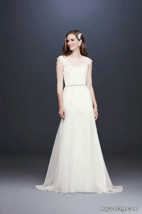 لباس عروس زیبا و خاص