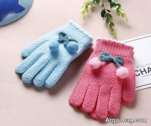 دستکش زیبا و شیک بچه گانه