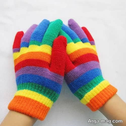مدل دستکش شیک و فانتزی بچه گانه
