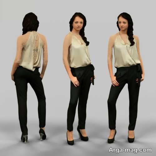 مدل شلوار شیک و جذاب زنانه