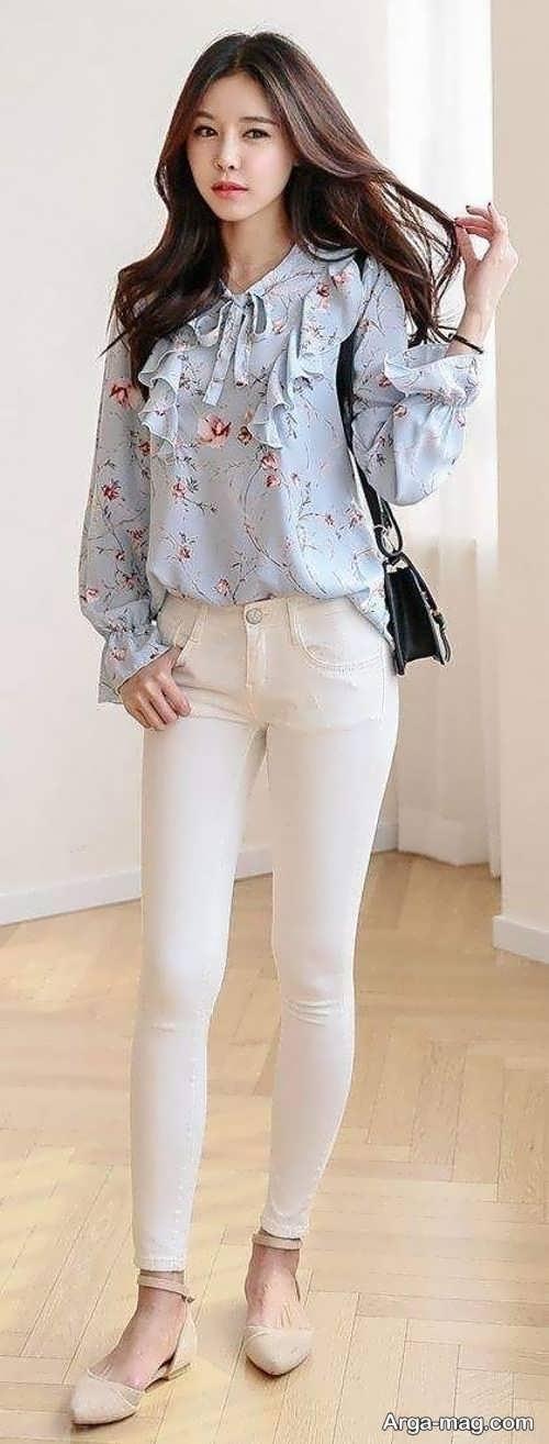مدل شلوار سفید 2019