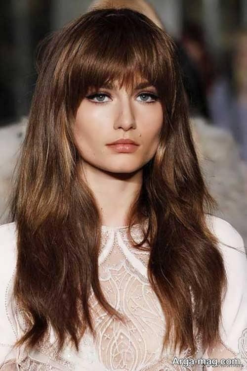 مدل موی زنانه چتری
