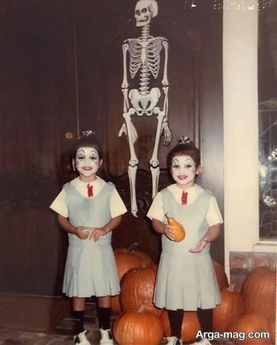 سلبریتی ها در جشن هالووین با گریم های متفاوت